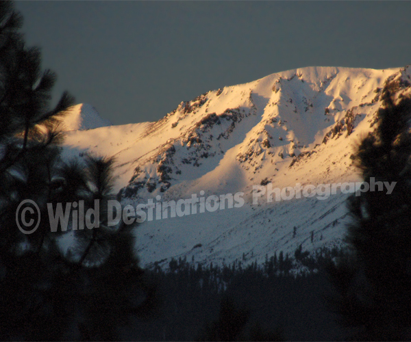 Mt. Tallac sunrise, Tahoe Spring Photography Workshops